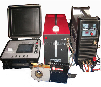 Thinner pipe automatic TIG orbital welding machine with oribital TIG welding method