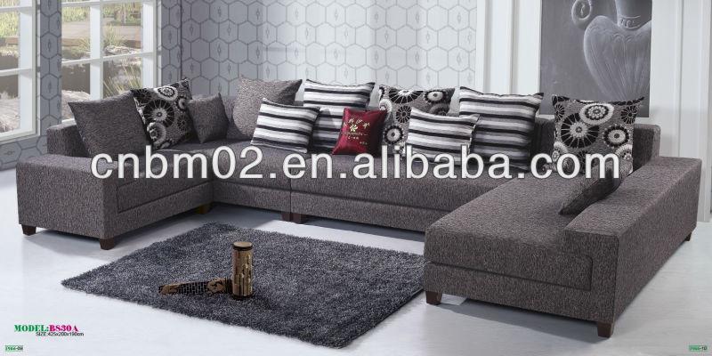 Modern Furniture Uae royal fabric corner sofa set simple modern designs 100% quality