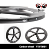 New high proforma full carbon five 5 spoke wheels straight pull durable raod bike wheels