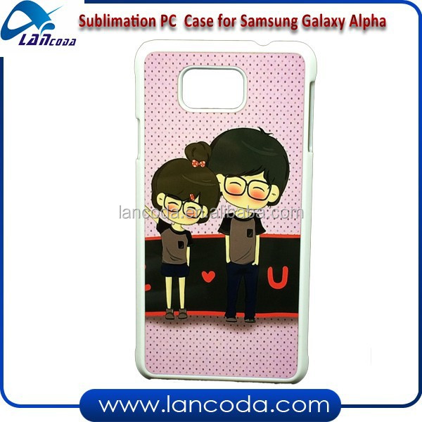 wholesale aluminum heat transfer case for samsung Alpha G850 mobile phone case