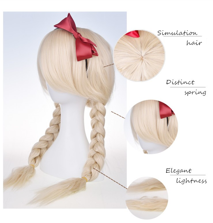 Synthetic Hair Material And No Virgin Hair New Arrival
