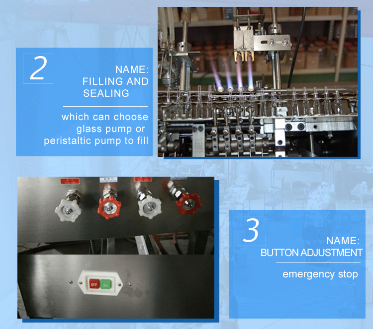 4 Nozzles ampoule filling machine3