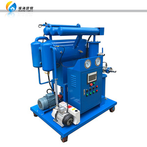 mobile multi-function single stage vacuum insulation transformer oil purifier machine