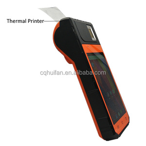 HF-FP09 Android Portable Printer POS System 1D and 2D Barcode Scanner Mobile Phone