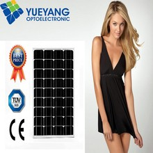 Monocrystaline Photovoltaic PV best price power 18V 50W solar panel, Battery Charging