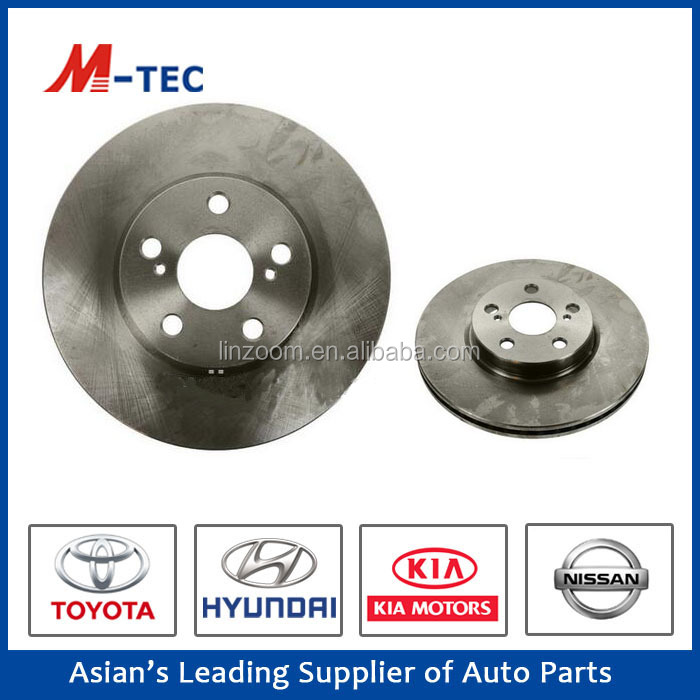 Vehicle maintenance bake rotor disc pads price 43512-12710 for Corolla