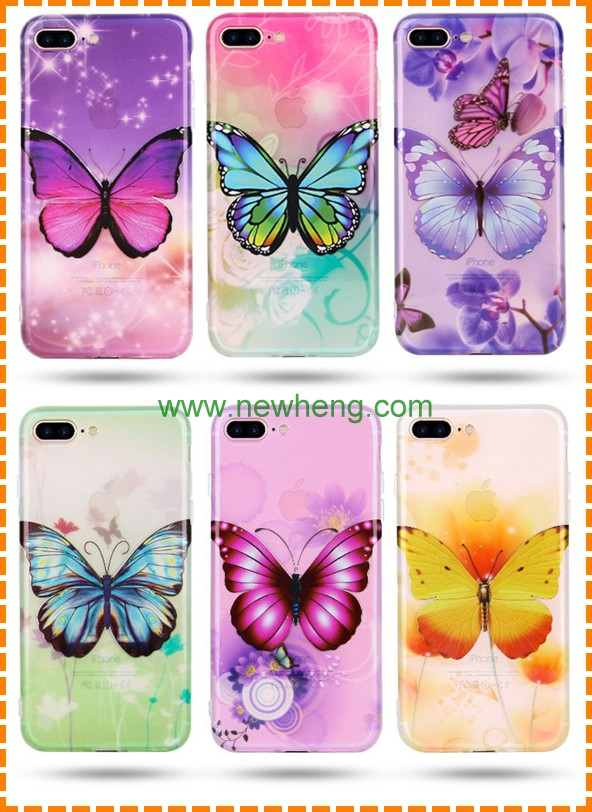 Fashionable Painting pattern cellphone protector case for iphone 7