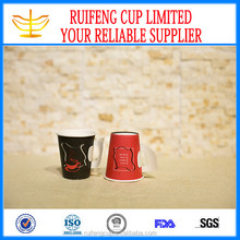 China Wholesale High Quality Hot Drink Paper Cup With Handle