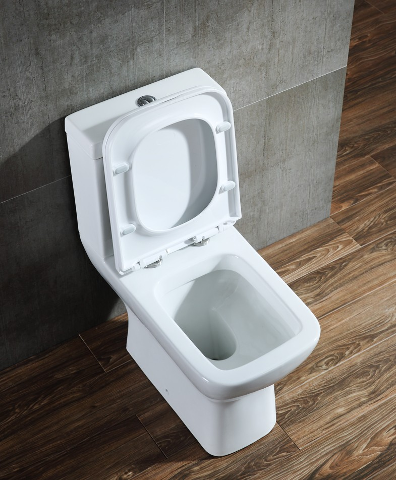 White color washu ceramic two piece sanitary ware bed toilet