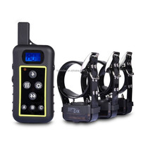 2000Meter rechargeable and waterproof shock collar for humans