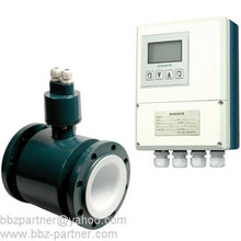 BBZ RS485 output separated and Integrated type magnetic water flow meter price