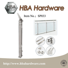 Chrome Window Baluster Premium Handrail Post Metal Hardware Fencing Post