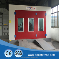 LY-8200 car spray paint booth with riello burner heater