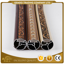 Best sale cheap price popular home wood curtain rod wholesale