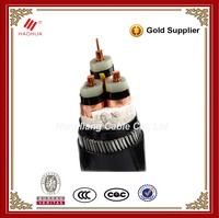 NO.3132- 6kV to 33kV 50mm2 70mm2 95mm2 120mm2 Medium Voltage XLPE SWA PVC Cable Steel wire armoured power cable manufacturer