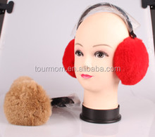 women Fluffy warm Earmuffs Earcaps Ear cover winter fur belt Multicolor
