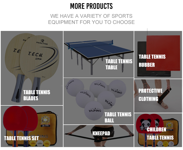 Table tennis rubber cheap pingpong rubber approved by I.T.T.F.