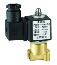 RSW015 brass gas miniature electric solenoid valve