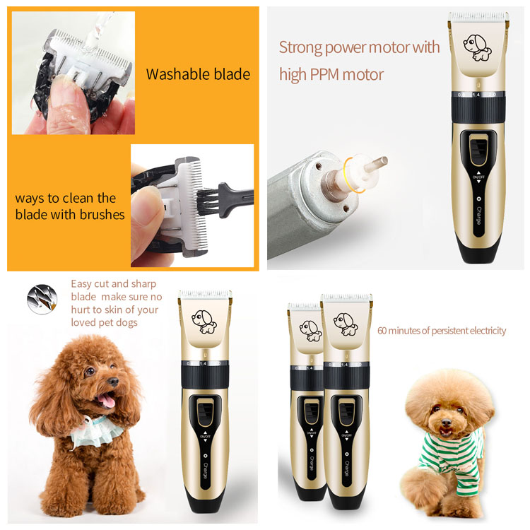 Wholesale professional pet hair clipper set clipper pet grooming