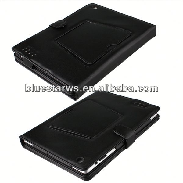 hot wireless bluetooth keyboard leather stand case for ipad 2
