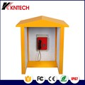 2017 Koontech OEM Outdoor Kiosk Noise Reduction Telephone Booth Outdoor Phone Booth