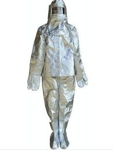 High Temperature resistant suit Aluminized fire performance clothing