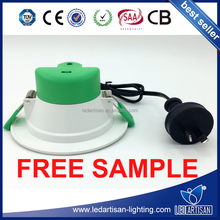 Tricolor SAA approved led downlight