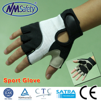 NMSAFETY synthetic leather bicycling gloves breathable bicycling gloves
