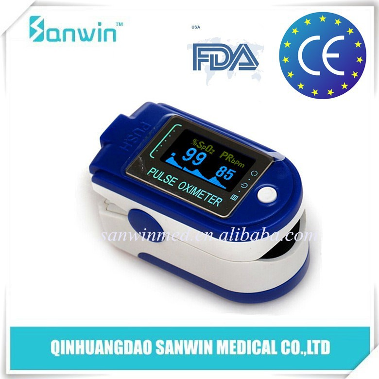 CE/FDA Approved Home Health Care USB Interface Finger Pulse Oximeter