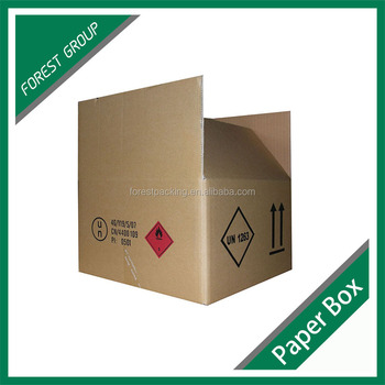 CORRUGATED PAPER 5-PLY SHIPPING CARTON BOX
