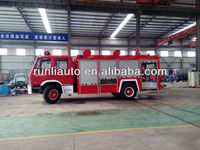 4500L Dongfeng fire engine/antique fire engine model