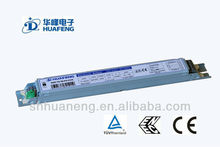 220V-240V TUV CE ENEC of T8 2x36w Warm Start Electronic Ballast