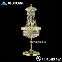 Table chandeliers weddings crystal beaded table lamps