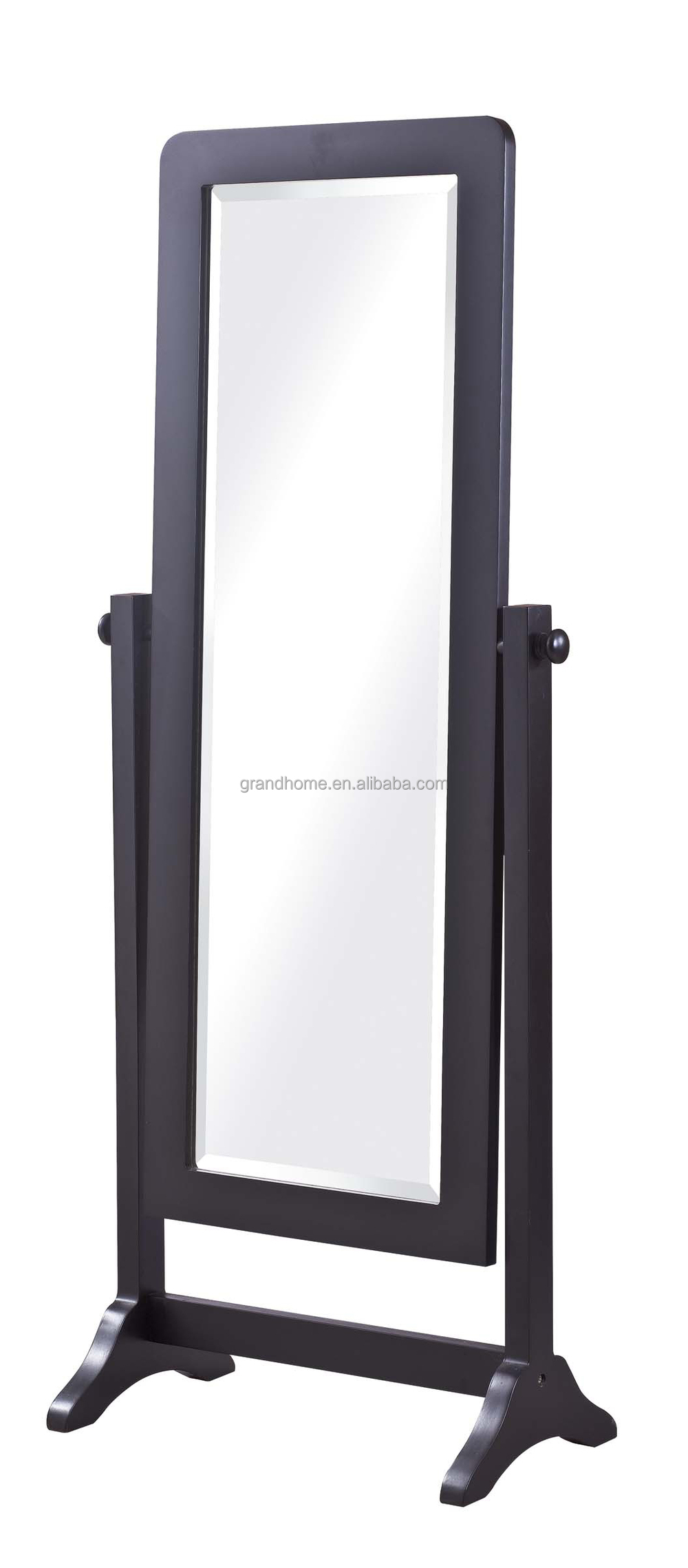 China Manufacturer Living Room Furniture Mirrored Jewelry Armoire Wholesale F