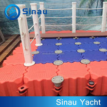 plastic pontoons ship floating dock factory direct sale