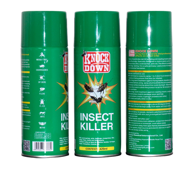 oil-based aerosol spray/aerosol insecticide/insect killer spray
