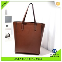 new eva foam tote women leather blank bag for shopping