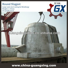 large cast steel cinder Ladle for aluminum industry