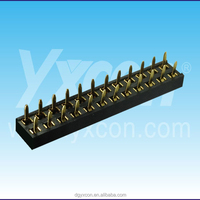 Dongguan 2.00mm pitch 24pin 180 degree female header