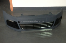 high quality PP material vw polo R front bumper