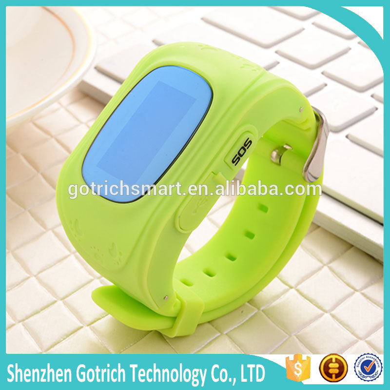 Hot Selling 2015 New Arrival Wrist Watch Gps Tracking Device For Kids With SOS