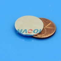 18mm disc neo ndfeb round strong permanent sintered magnet