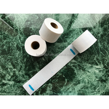 disposable hair beauty salon neck ruffles paper roll for barber , barber neck tape paper , barber neck strip
