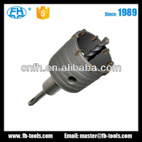 YG8C tungsten carbide Tipped TCT Hole cutter Hollow Cores cutter for concrete