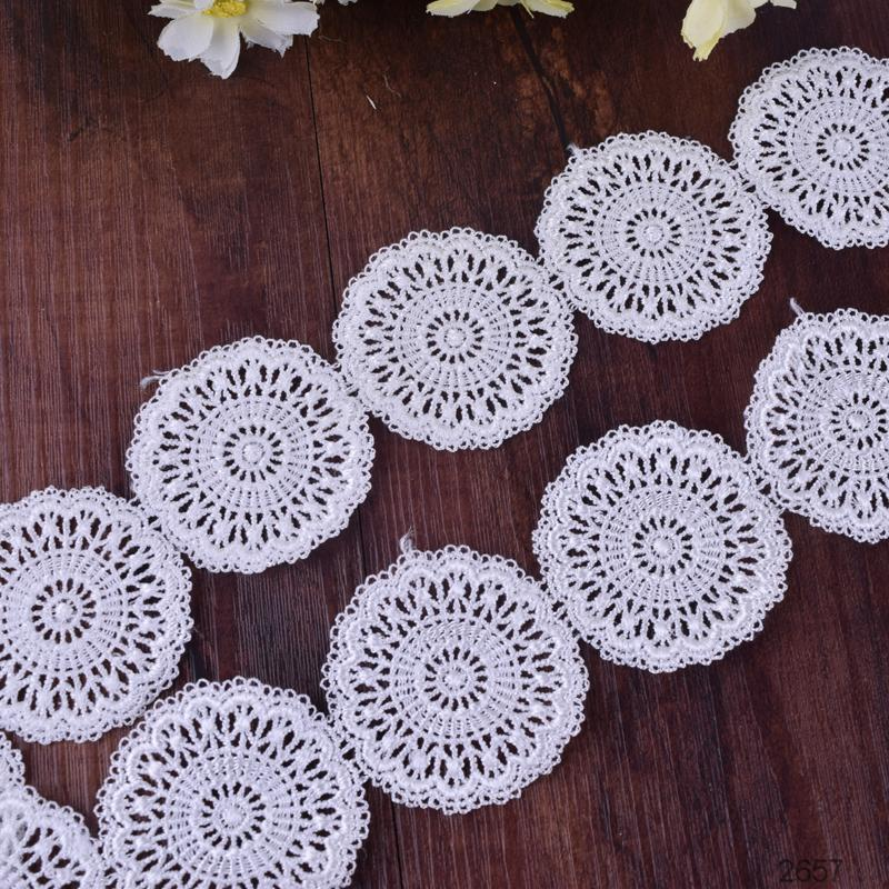 italian white embroidery lace trim fabric
