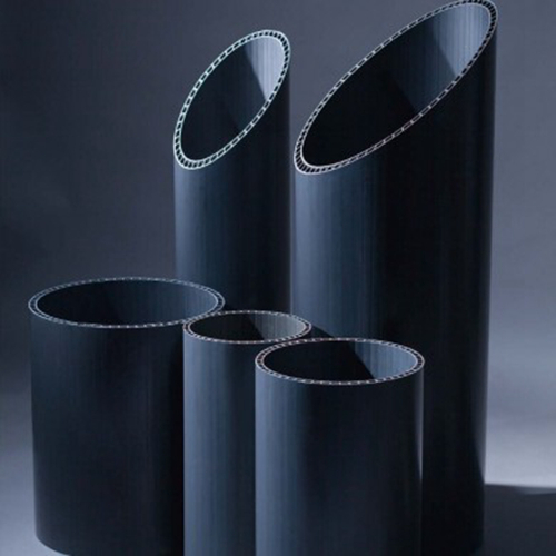 cheap price double axial hollow-wall pvc-u pipe