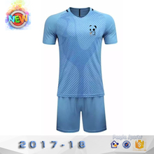 1718 new season high quality plain soccer jersey