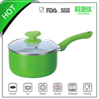 Induction cookware stainless steel milk boiling pot