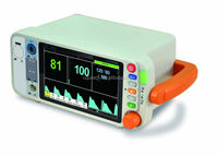 "Hot selling 7"" Portable Vital Signs Patient Monitor from China(SpO2/PR/NIBP)"