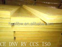 30mm non flammable glass wool board insulation with foil kraft